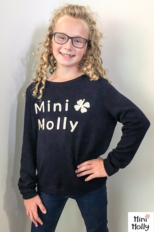 CHANDAIL FILLE MINI MOLLY